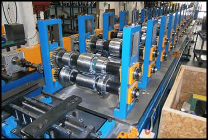 16 Stand Roll Form Machine