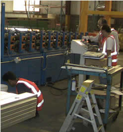 Roll Form Machine Repair Service