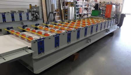 5 rib ag panel roll former