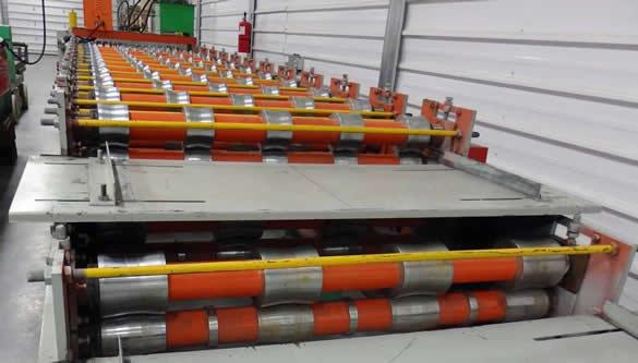 double decker roll former